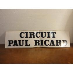 1 AUTOCOLANT CIRCUIT PAUL RICARD
