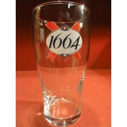1 VERRE 1664 KRONENBOURG 50CL