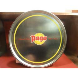 1 PLATEAU  PAGO DIAMETRE 40CM