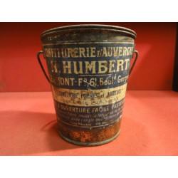 1 SEAU A CONFITURE D'AUVERGNE  H. HUMBERT