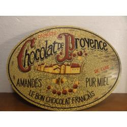 TOLE BOMBEE  CHOCOLAT DE PROVENCE