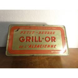 1 BOITE  GRILL-OR ALSACIENNE