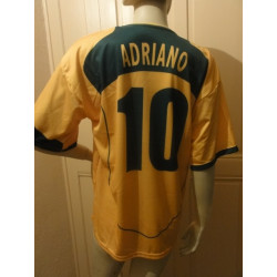1 MAILLOT FOOT  BREZIL  N 10 ADRIANO
