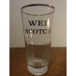 1 VERRE WEL SCOTCH 25 CL