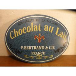 1 TOLE CHOCOLAT AU LAIT