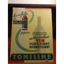 1 CARTON PRESENTOIR  TONISINE VIN