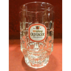 1 CHOPE  MUTZIG OLD LAGER 50CL