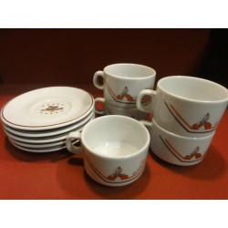 5 TASSES A CAFE  RAS D'AMHARA  18CL
