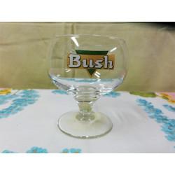 1 verre bush 15cl  neuf  9cm