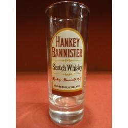 6 VERRES WHISKY HANKEY BANNISTER 22CL