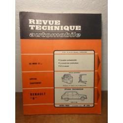 1 REVUE TECHNIQUE RENAULT 6