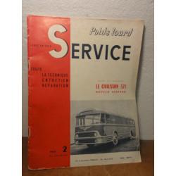 1 REVUE POIDS LOURD SERVICE  CHAUSSON 521
